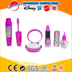 Promotiemeisje Make-Up Toys Beauty Set Met Spiegel, Parfum Fles, Lip Stick, Eyelash Borstel