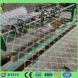 PVC または PE コーティングチェーンリンクワイヤメッシュフェンス