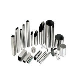 냉기 있는 201 304L 316 316L 410 430 심리스 또는 용접된 원형/사각형/사각형/육각/타원형 스테인리스 스틸 튜브