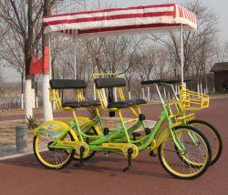 دراجة فراي رباعية الدراجة تتسع لأربعة أشخاص و6 مقاعد ترادفية الدراجة