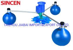 AC DC compatibles con energía solar de 1,5 kw de energía solar el impulsor de bola flotante aireador aireador