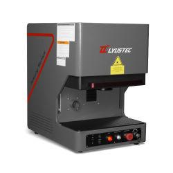 Новая модель для настольных ПК станок для лазерной маркировки металла с защитным кожухом 20/30/50W волокна станок для лазерной гравировки