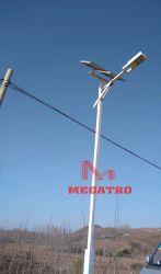 Torre de aço da luz solar Megatro na estrada