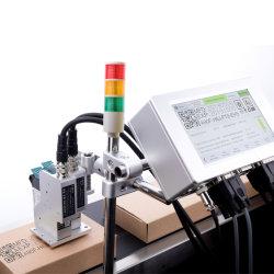 De Printer van /Online Tij van de Machine van de Codage van de Partij van de Printer OEM/ODM Tij/De Codeur van Inkjet van de Vervaldatum /Docod T210 met Twee Printheads Teken 25.4mm