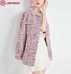 Dames Winter Coat Woollen Long Sleeve Jack met riem