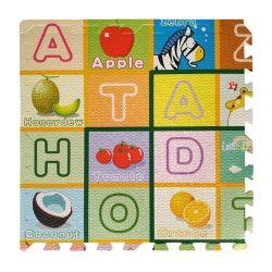 Мягкий и безопасный Кампания просрочена Non-Toxic детей&S взаимосвязанных многоцветные осуществлять головоломки по вопросам образования ABC алфавит EVA играть из пеноматериала коврик пола для малыша комната