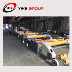 El cartón ondulado de la línea de producción de papel molino hidráulico Shaftless Placa soporte vertical