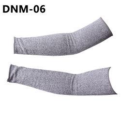 Bonne qualité avec des prix bon marché 13G Hppe tricot de fibres résistant aux coupures de la sécurité des manchons de travail