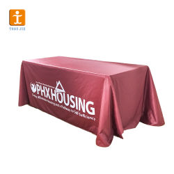 تسلسل بركة يلاءم طاولة مطعم يلتقي مبلمر قطر سماط طاولة تغطية 100 بوليستر مستطيل