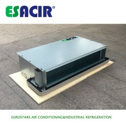 Unidad de Bobina de Ventilador de Agua Refrigerada de Cassette Expuesto de Techo Oculto Horizontal