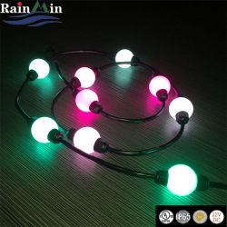 Супер качества праздник освещение светодиодная подсветка RGB мини-шарик лампа