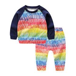 Kid's Vêtements Vêtements pour bébés aux couleurs avec manchon long Vêtements d'enfants