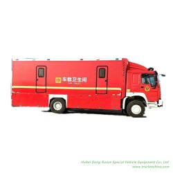Personalizzazione Sinoflok HOWO Mobile toilet Car (Fuoristrada 4X4 motrice a trazione integrale)