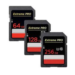Extreme PRO 90MB/S de Cartão de memória de 16GB, 32GB, 64GB, 128GB 256GB Flash SD 600X Uhs-1 SDHC cartão SDXC