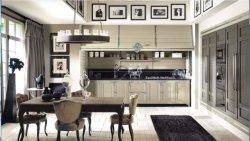 Neue stilvolle festes Holz-Küche-Schränke mit elektrischem und Körben