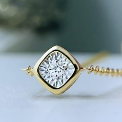Jóias de 18K Bracelete Ouro Pedra Solo bracelete de diamantes belas jóias