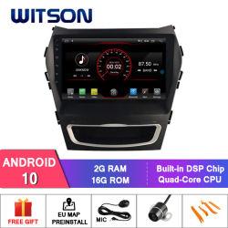 "Witson 9 "" Hyundai IX45 2017년을%s 큰 스크린 인조 인간 10 차 DVD"