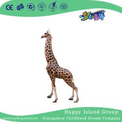 위락 공원 (HHK-12803)를 위한 옥외 FRP 중간 지라프 동물성 조각품