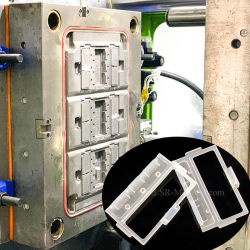 Moldagem por injecção de silicone líquido para peças de molde de borracha de silicone LSR