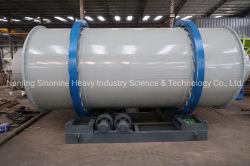 La arena seca que hace la máquina de sílice arena de cuarzo granate secador rotativo rotativo Industrial Máquina Secadora de polvo de hierro