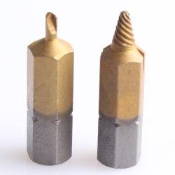 El tornillo Extractor-Separate Bits de perforación y extracción de bits
