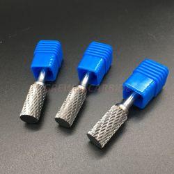 la taglierina rotativa stabilita della bava rotativa solida del carburo della tibia di 6mm file lo strumento dell'incisione di CNC