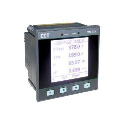 PMC-53A DIN96 Klasse 0,5s Dreiphasen-Multifunktions-Energiemessgerät mit Dot-Matrix LCD-Panel RS-485 Optionale E/A