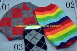 L'inverno su ordinazione del fornitore ha trattato i vestiti lavorati a maglia del cane degli accessori dell'animale domestico del maglione (PCZW21023)