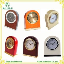 Tabela de Alumi Relógio de Alarme de madeira para o Hotel