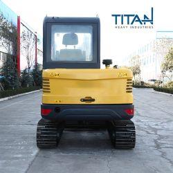 Le creusement de l'équipement Titanhi Petite ferme avec la petite taille et facile à transporter