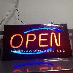 LEDの軽いSignboardおよび表記LEDの開いた印