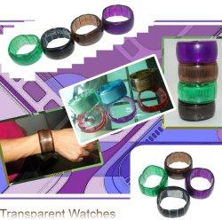 친환경 OEM 플라스틱 투명 시계