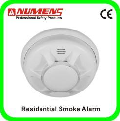 Photoelectric الأكثر مبيعًا، 9 فولت، إنذار الدخان، جهاز مستقل للإنذار، اتصال داخلي، بطارية الليثيوم (203-004)