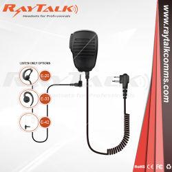対面ラジオのための軽量の遠隔肩のスピーカーのマイクロフォン