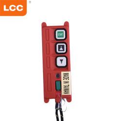 أنظمة التحكم عن بُعد في زر رافعة مرفاع المعدات الصناعية المقاومة للماء