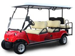 6 Seater Golf-Karren-Sport- Golf mit vorderem Storge