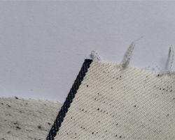 8.9oz witte Stof w12112-3 van het Denim van de Jeans van de Rand van de Vlek van de Kleur Japanse