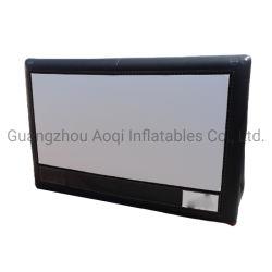 Реклама на открытом воздухе надувные проектор экран фильма для автомобильного кинотеатра