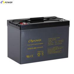 Cspower Battery Deep Cycle Long Life AGM Battery Inverter SolarかSunny Storage Power Tool対Narada