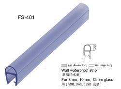 Joint de porte en verre de douche PVC étanche Bande d'étanchéité en PVC