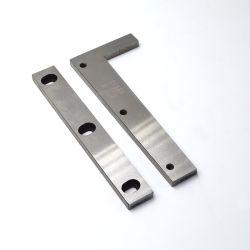 Piezas de la máquina de corte industrial cuchilla Cizalla guillotina
