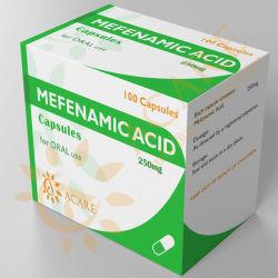 Capsules 250mg van de Afgewerkte producten van geneesmiddelen Mefenamic Zure; 500mg