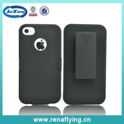 Shell Holster Combo Belt Klipp Phone Fall für iPhone 4G/4GS