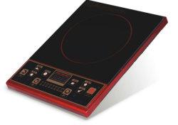 Une cuisinière induction58 2200W 3000W cuisinière électrique d'un comptoir d'appareils ménagers 4 Bouton poussoir à affichage LED Digita