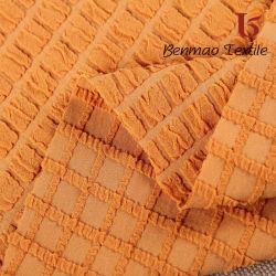 Tessuto polare tinto del panno morbido del poliestere del jacquard per l'indumento, tessile domestica