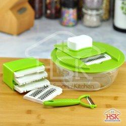 Conjunto de utensílios de cozinha para espeto/ralador de vegetais