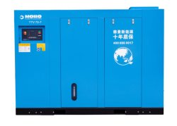 L'HP 6 di chilowatt 100 di TTV 75 7 8 barra 380V/50Hz dirige il compressore d'aria a due fasi guidato della vite dei due motori