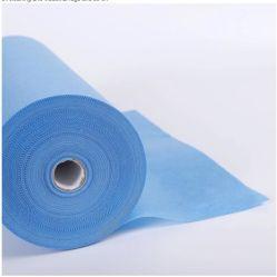 Résistant à l'eau respirant 1,6 m/3,2 m SGM-SAR/SMS PP Nontissé pour robe médicale et chirurgicale des matériaux