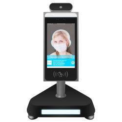 Entrée numérique de la mesure de température intérieure de caméra de reconnaissance faciale