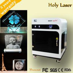 3D-хрустальное стекло станок для лазерной гравировки по личным конструкций, подарки
